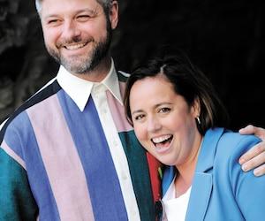 Pierre Lapointe et Ariane Moffat animeront la fête nationale sur les plaines d'Abraham.