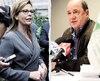 Anne Guérette, chef de l'opposition, et Jean Gagnon, qui songe lui aussi à se présenter à la course à la mairie de Québec. La multiplication des candidats risque de diviser le vote des opposants à Régis Labeaume.