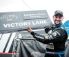 Le pilote originaire de Granby Andrew Ranger a obtenu samedi sa troisième victoire en cinq départs à Toronto dans la série NASCAR Pinty's.