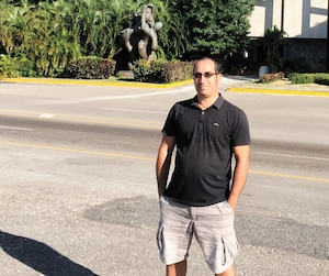 Toufik Benhamiche à La Havane avant que tout bascule en juillet2017.