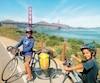 Liam Decoursay et Tjakotjac Ratt-Castonguay, à San Francisco, en Californie.