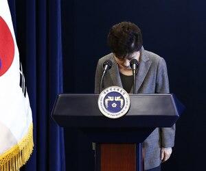La président sud-coréenne Park Geun-Hye.