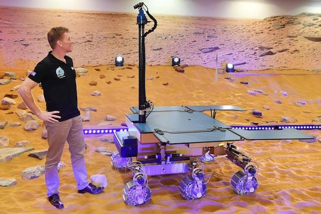 Le robot a été baptisé jeudi du nom de la scientifique britannique Rosalind Franklin.