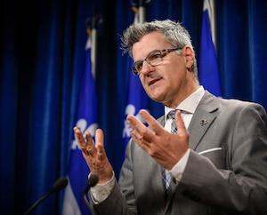 Le ministre délégué à la Transformation numérique, Éric Caire