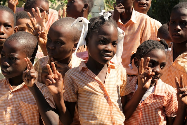 Jeunes étudiants rencontrés au musée de la canne à sucre.