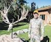 Rick Tebay, un Américain de passage fin septembre à la Laurentian Wildlife Estate.