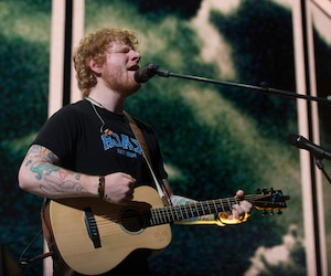 Shape of You, le succès d'Ed Sheeran, a été diffusé plus de 5,4 millions de fois.