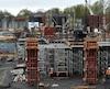 Le chantier du mégahôpital du CHU de Québec