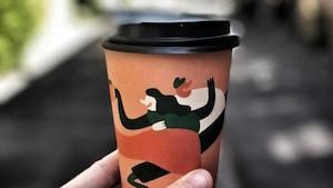 Ce café offre le café gratuit le 1er juillet