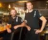 Mathieu Bourdages et Mathieu Cloutier sont les deux chefs et propriétaires du restaurant Kitchen Galerie.