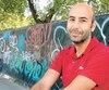 Kamel Afia, 39 ans, est intervenant psychosocial dans les écoles et premierauteur de l'étude qui sera bientôt publiée.