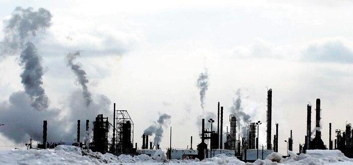 cheminées d'usines