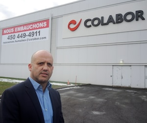 Jean Boisvert, le vice-président ressources humaines et communications de la compagnie Colabor, affirme qu'il ne faut plus attendre des curriculum vitæ, mais plutôt foncer, aller sur le terrain et être créatif pour attirer la main-d'œuvre.