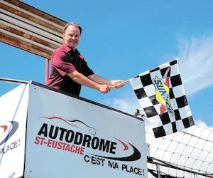 Le propriétaire de l'Autodrome St-Eustache, Alan Labrosse, s'apprête à tourner la page.