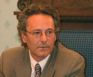 Denis Lavoie, maire de la ville