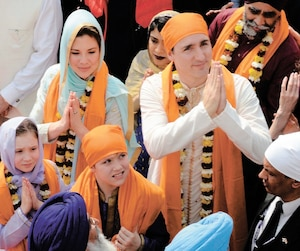 L'image de Justin Trudeau souffre beaucoup des retombées de son voyage en Inde.