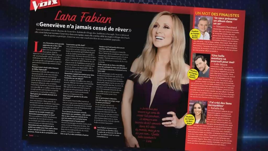 La revue de presse de Sabrina