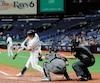 Les Rays disputent la grande majorité de leurs matchs devant des gradins dégarnis au Tropicana Field.