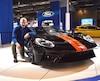 Richard L'Abbé et une Ford GT 2017