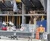 Les inspecteurs de la Régie du bâtiment voient notamment à s'assurer du respect des normes de construction sur les chantiers comme celui-ci. Les employés qui ont été rappelés à l'ordre étaient responsables d'inspections de santé et de sécurité.