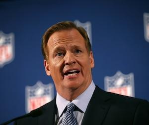 Le commissaire de la NFL, Roger Goodell