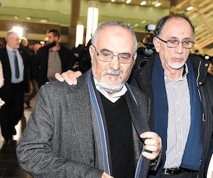 Le Centre culturel islamique de Québec(CCIQ) n'a pas encore déterminé s'il demanderait formellement à la Couronne de porter la cause en appel. Sur la photo, son ancien président,Mohamed Labidi, et son président actuel,Boufeldja Benabdallah.