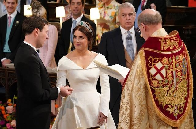La princesse Eugenie a épousé Jack Brooksbank.