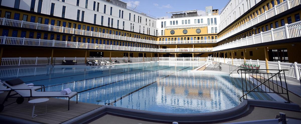 Paris pl biscit pour ses h tels avec piscine jdm for Hotel paris avec piscine