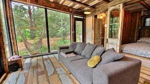Un shack de luxe au style unique à vendre