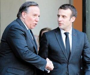 Vingt-quatre ans après la visite historique de Jacques Parizeau à Paris, la boucle est bouclée.