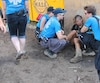 Pendant une expédition avec une équipe de bénévoles, nous avons d'ailleurs assisté à une intervention auprès d'une jeune femme qui passait un très mauvais moment à cause d'une dose d'héroïne.
