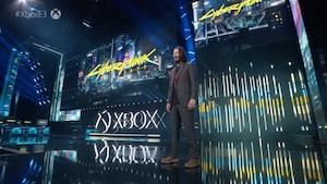 Keanu Reeves surprend la foule du E3