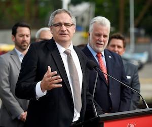 La candidature d'Éric Tétrault n'a jamais fait l'unanimité au sein du PLQ.