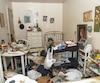 Jean-Louis Cantara est mort seul dans cet appartement insalubre, à Montréal. Il avait coupé les liens avec sa famille depuis longtemps.