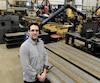 Le directeur de l'usine Transfo-Soudure, David Latulippe, pensait bien que l'achat de l'usine d'Alstom par GE Power, en 2015, lui amènerait plus de contrats et ferait grimper son chiffre d'affaires, mais c'est plutôt l'inverse qui s'est produit.