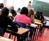 Bloc école Salle de classe, salle d'examen