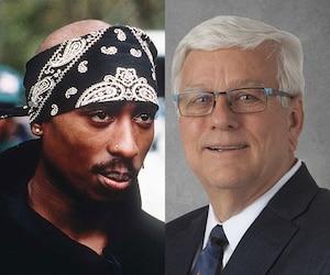 Un fonctionnaire blanc de 66 ans obsédé par Tupac