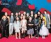 L'équipe du film Kuessipan a défilé sur le tapis rouge du Festival de cinéma de la ville de Québec, mercredi.