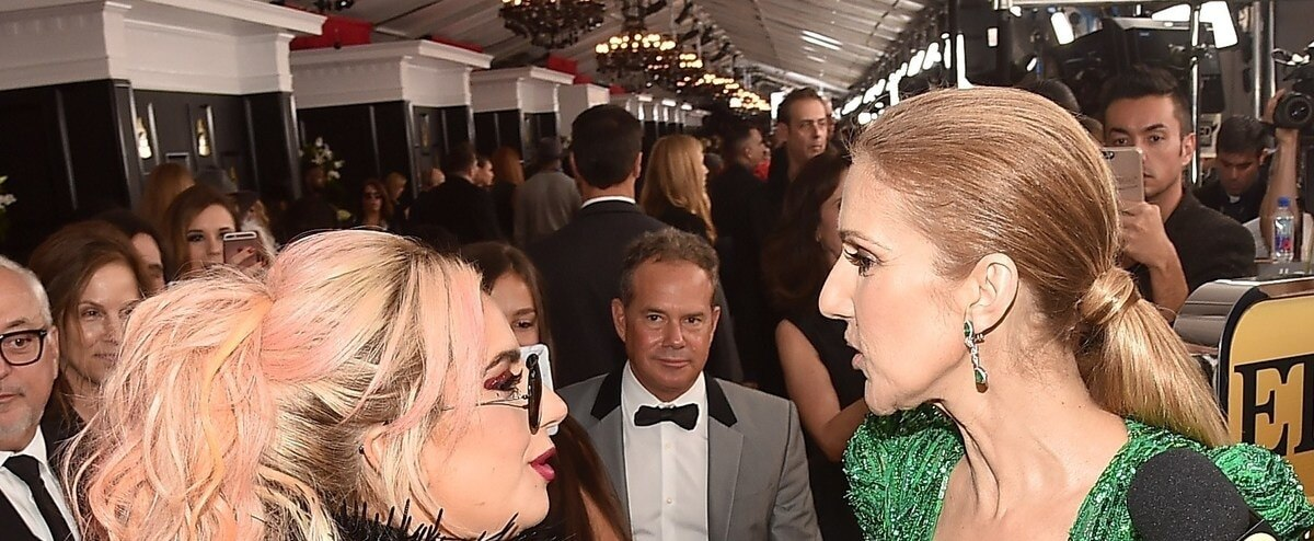 Céline Dion rend hommage à Lady Gaga