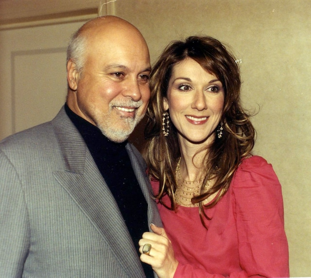 Céline Dion et René Angelil. Mai 2002. Photo Gilles Lafrance / Le Journal de Montréal.