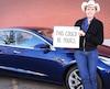 Kimbal Musk et sa Tesla Model 3 à faire