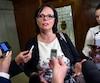 La ministre déléguée à la Santé publique et aux Saines habitudes de vie, Lucie Charlebois