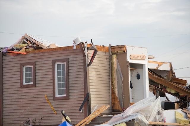 La ville de Dunrobin, un secteur de la ville d'Ottawa, a aussi été touché par la dépression (tornade) qui a affecté Gatineau, vendredi le 21 septembre 2018 en fin d'après-midi.  MATT DAY/AGENCE QMI