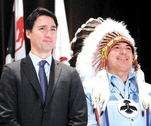 Le chef de l'Assemblée des Premières Nations, Perry Bellegarde, a dénoncé, samedi, le racisme qui sous-tend le système judiciaire canadien.