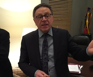 Le maire de Lévis, Gilles Lehouillier.
