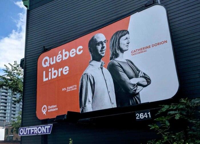 Comme un gros cadeau pour Félix, Québec solidaire a lancé cette semaine une offensive mettant en avant le fameux «Québec libre».