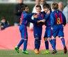 Le FC Barcelone ouvrira bientôt à Montréal une école de soccer pour les 6 à 18 ans.