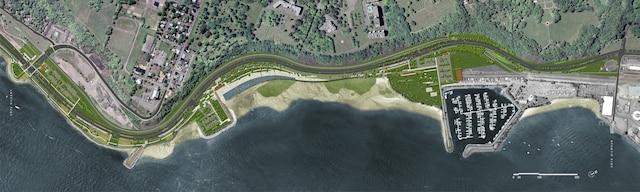 Des croquis de la 3e phase de la promenade Samuel-De Champlain ont été dévoilés lundi matin.