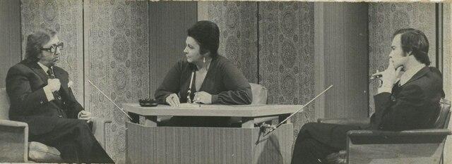 Pierre Péladeau, Lise Payette et Jacques Fauteux.
