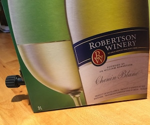 Le chenin blanc de Robertson est maintenant disponible en format trois litres sous-vide.